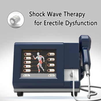 Effective 6 Bar shock wave physics pain therapy system pain relief tires ED treatment shock wave therapy