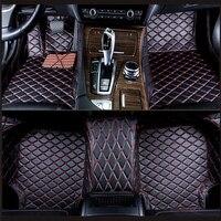 Custom car floor mats for Audi A6L R8 Q3 Q5 Q7 S4 S5 S8 RS TT Quattro A1 A2 A3 A4 A5 A6 A7 A8 car accessories auto sticks Custom