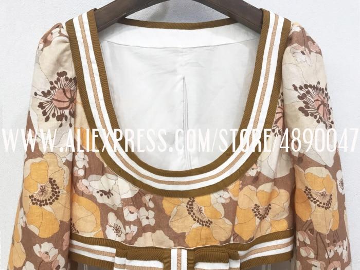 Vestido boêmio feminino de linho, manga longa,
