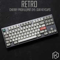 9009 colorway 169 Kirsche profil Dye Sub Keycap Set dicken PBT kunststoff tastatur gh60 xd60 xd84 cospad tada68 rs96 zz96 87 104 660
