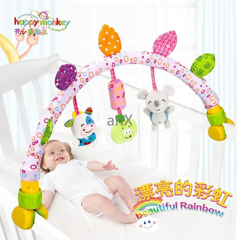 Móvil Musical De Felpa De 80 Cm Para Bebé Juguetes Para Cuna Arco En La Cama Sonajero Para Bebé Recién Nacido Juguete Para Cochecito De 0 A 12 Meses Móviles Y Sonajeros De