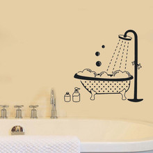 Vintage Wall Sticker Bathroom Decor Bathroom Door Vinyl Decal Transfer Decor Vintage Wall Art Home Decor Sticker cheap ISHOWTIENDA Single-piece Package Sticker Description Plane Wall Sticker American Style For Wall PATTERN