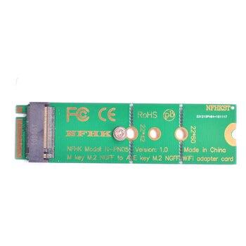 Motherboard M.2 M key to A + E Key NGFF slot WIFI Wireless Network Card Laptop M2 NGFF PCI express to E key slot Adapter