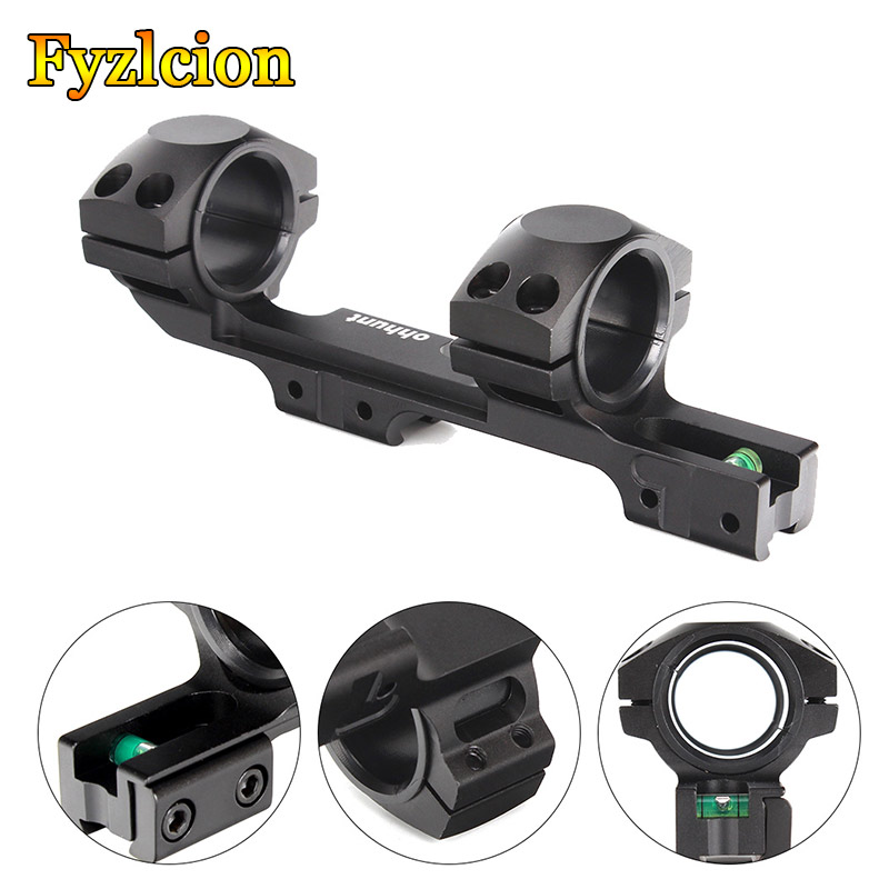 Hunting 11mm Riflescope Mount 25.4mm / 30mm Bi-direction Offset Rings 3/8