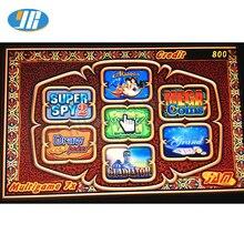 Горячая Распродажа, многоигровое 7X настольное(60-95%) игровое казино, печатная плата красного цвета, игровое поле 7 в 1, покерные игры для Jamma, комплекты игровых автоматов