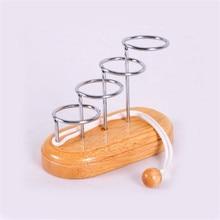 Juego de cerebro juguete de madera juguete educativo anillo de cuerda de broma solución de juguete para adultos ejercicio espacio de pensamiento juguetes para niños agags y broma práctica