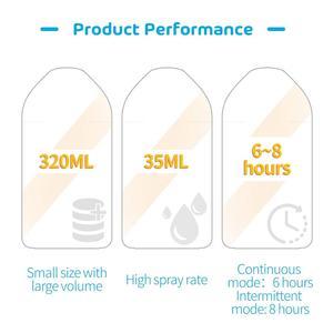Image 5 - مرطبات ذكية 320 مللي مرطّب هواء تعمل مع أمازون أليكسا ، مساعد جوجل لسيارة غرفة الطفل