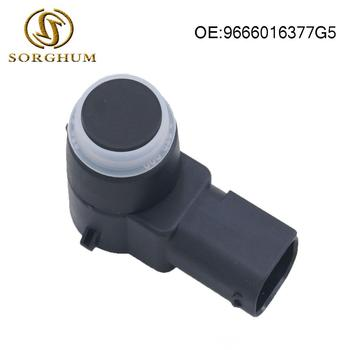 New PDC Parking Aid Sensor For Peugeot 308 407 RCZ Citroen C4 C5 C6 DS3  9666016377G5 9666016377XT 0263003893 9653139777 parking sensor pdc for peugeot 307 hatchback 3a 3c break 3e cc convertible 3b 308 sw 3h estate citroen c8 anti radar