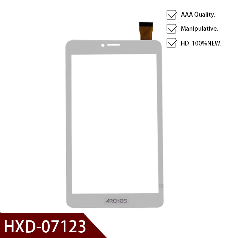 White Test Ok For 7 Inch Archos/HXD-07123 Zs Tablet PC Digitizer Capacitive Touch Screen Panel Glass Sensor Replacement Part
