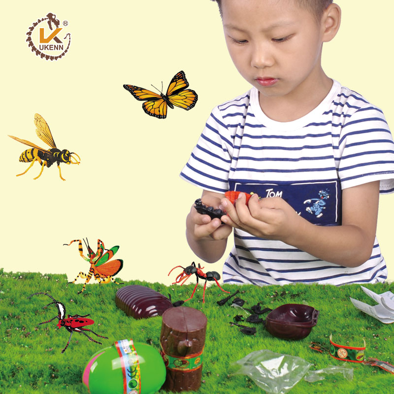 4 Pcs Animal Insect Puzzle Educational Science Toys for Kids - 24 kinds of Insects image