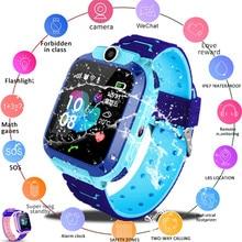 Waterproof Kids Smart Watch SOS Antil-lost Smartwatch Baby 2G SIM Card Clock Call Location Tracker Smartwatch PK Q50 Q90 620 цена в Москве и Питере