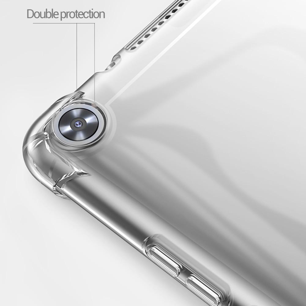 Funda Samsung Galaxy Tab S5e 10.5 2019 SM-T720 SM-T725 shockproof  transparent  soft silicone case flexible bumper back cover-4