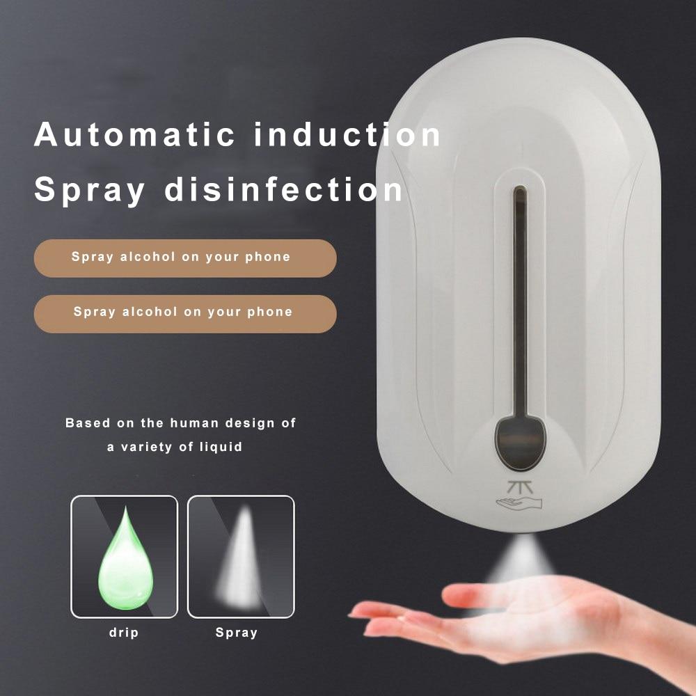 Automatic Liquid Soap Dispenser Touchless Sanitizer Dispenser Bathroom Accessories Hand Cleaning Intelligent Sensor Health Care