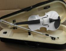 Learn Chilean White Violin 1/8 1/4 1/2 3/4 4/4 Complete Fall and Bow
