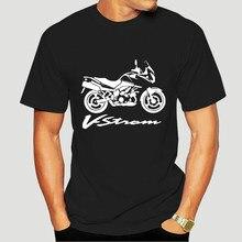 2019 mode T-Shirt Coton Suz Vstrom V Strom Dl 1000 Moto Tees-0255D