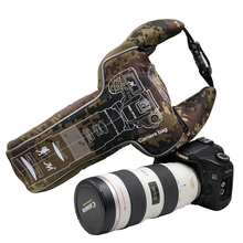 DSLR Camera Bag Pouch Case for Canon Nikon with 70-200mm 70-300mm EF 28-300 80-400 100-400 protective Storage shockproof