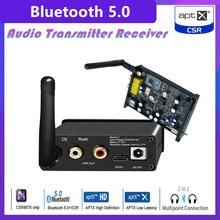 Lossless HIFI CSR8675 APTX HD Bluetooth 5.0 Wireless Receiver Adapter PCM5102A I2S DAC Decoding 24BIT TWS 3.5M RCA Output