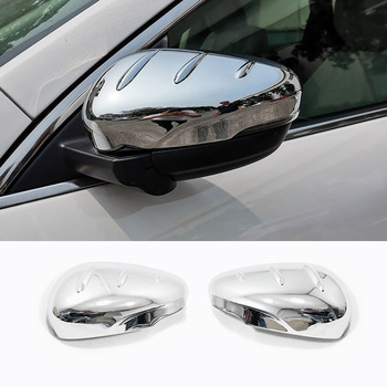 CHROME CAR REAR VIEW MIRROR WING MIRROR TRIM GARNISH COVERS FOR FORD KUGA ESCAPE 2020 ACCESSORIES CAR-STYLING