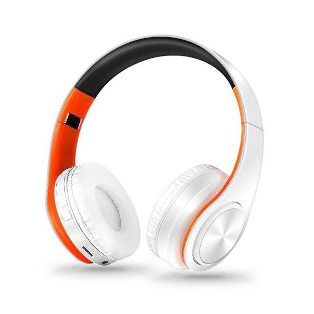 Nuovo Portatile Cuffie Senza Fili Bluetooth Stereo Headset Pieghevole Audio Mp3 Regolabile Auricolari con Microfono per la Musica 5