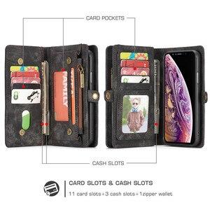 Image 5 - Luxus Magnetische Abnehmbare Fall Für iPhone 12 Mini 11 Pro XS Max XR X 7 8 6 s Plus SE 2020 leder Brieftasche Karte Telefon Taschen Abdeckung