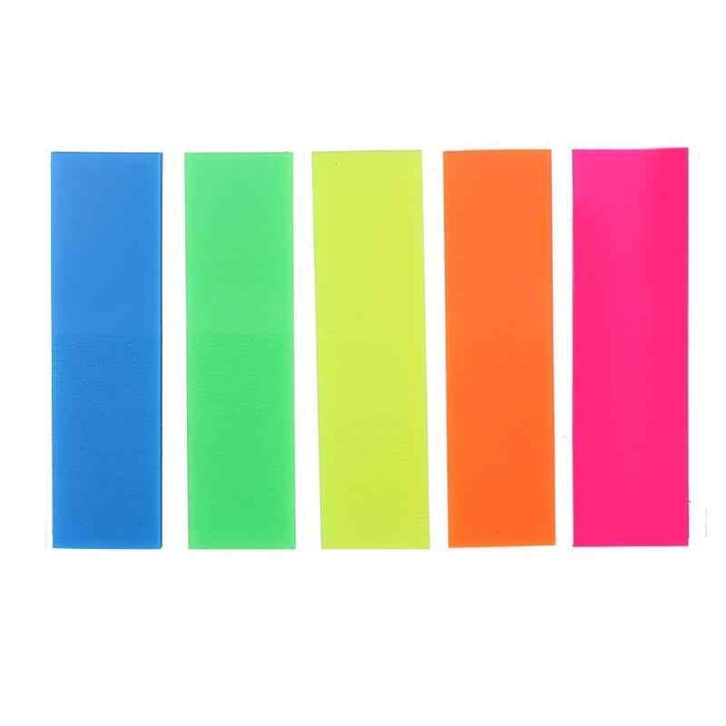 45*12mm 100 sztuk papier do etykiet fluorescencyjnych indeks notatnik N razy Sticky Note zakładka naklejka akcesoria szkolne