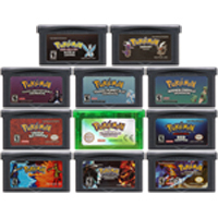 32 Bit Video Game Cartridge Console Card for Nintendo GBA Pokeon Serise Moemon Fire Red Dark Cry The Third Edition