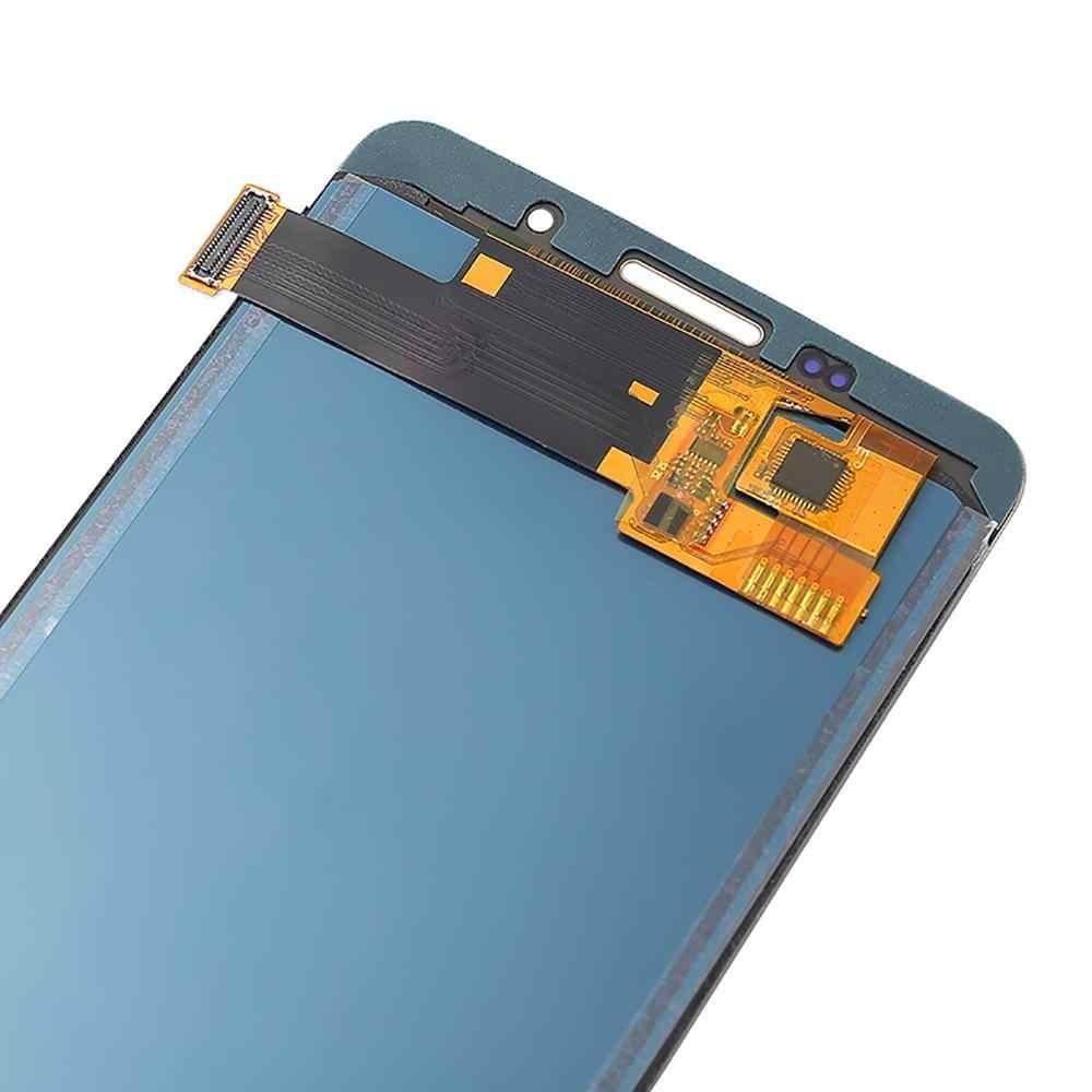 A510 מסך לסמסונג גלקסי A5 2016 תצוגת A510F LCD A510M SM-A510F תצוגת מגע מסך עצרת חלק להתאים בהירות