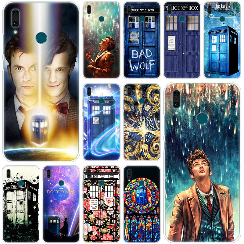 Hot Tardis Box Doctor Who <font><b>Silicone</b></font> <font><b>Case</b></font> for <font><b>Huawei</b></font> Mate 30 20 10 Lite Pro Y9 Y7 <font><b>Y6</b></font> Prime Y5 2019 <font><b>2018</b></font> Pro 2017 Fashion Cover image