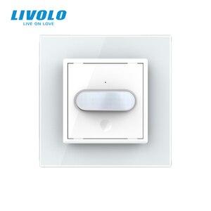 Image 5 - Livolo Interruptor de inducción táctil para el hogar, interruptor de luz de pared estándar europeo, inducción infrarroja, sin logotipo