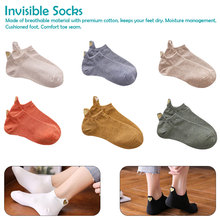 Fashion Socks Woman 2019 New Spring 1 Pair Ankle Girls Cotton Color Novelty Women Cute Heart Casual Lady