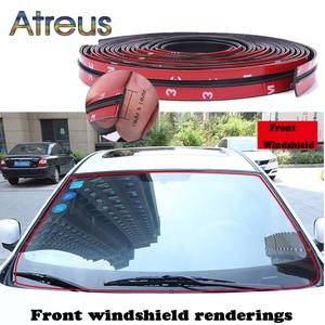 Image 1 - 14mm/19mm רכב סטיילינג שמשה קדמית גג הגנת איטום רצועות עבור טויוטה chr auris יאריס verso קורולה avensis וולוו XC60 XC40