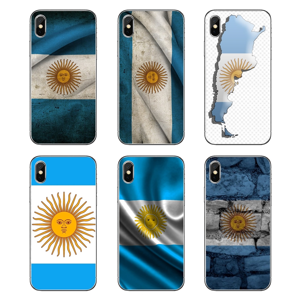 Us 098 Argentina Flag Wallpaper For Nokia 2 3 5 6 8 9 230 3310 21 31 51 7 Plus Soft Transparent Cases Covers In Fitted Cases From Cellphones