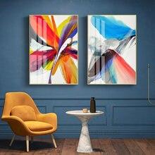 Современные абстрактные перья надежды красочные hd холст картины