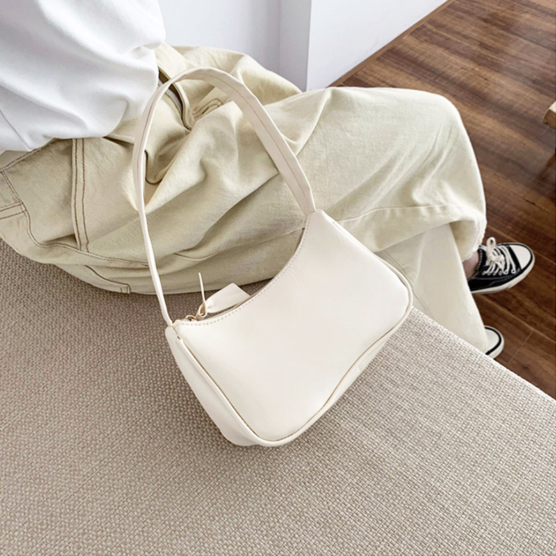 Retro Totes Bags For Women 2020 Trendy Vintage Handbag Female Small Subaxillary Bags Casual Retro Mini Shoulder Bag 5