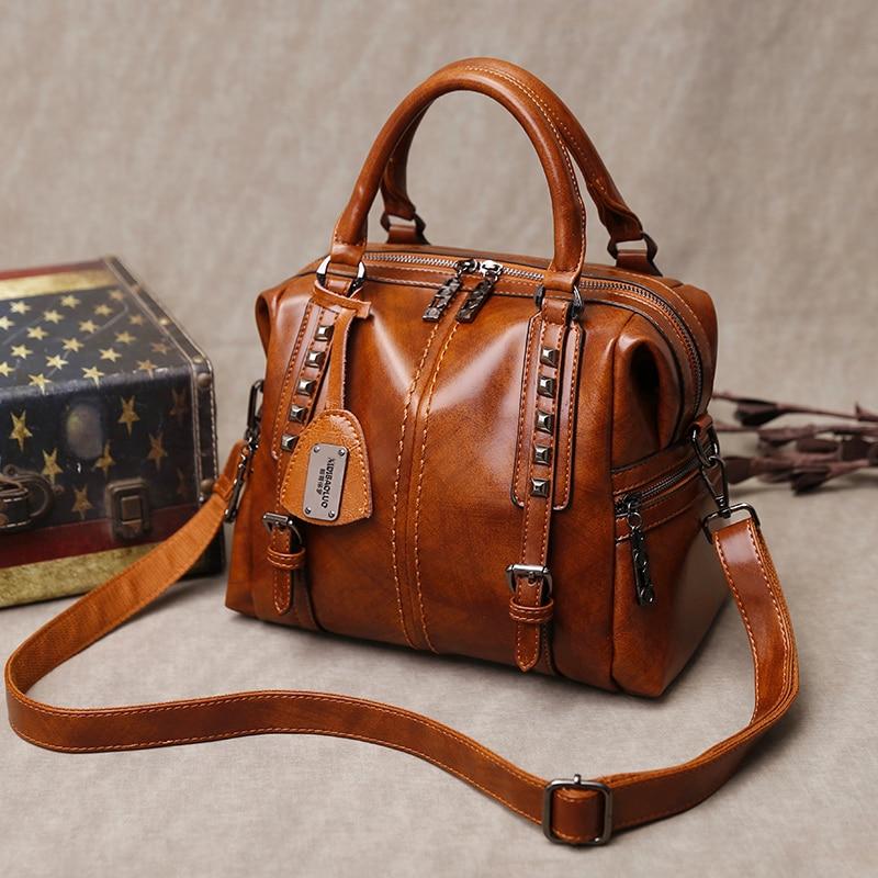 Women Bag 2020 Large Capacity Bags Ladies Shoulder Bag Designer Handbag High Quality Leather Vintage Crossbody Bags For Women