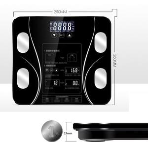 Image 5 - Bad Körper Skala Boden Gewicht Skala Elektronische Waagen Bad Skala Haushalts Waagen