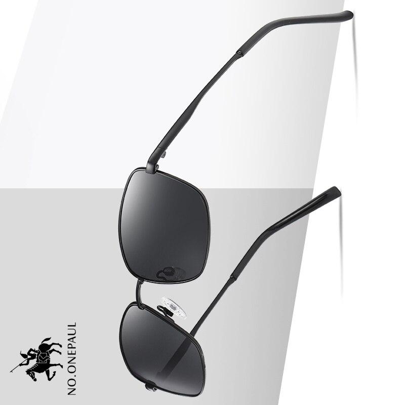 NO.ONEPAUL Outdoor Driving Classic Sun Glasses Frame Anti-Glare Mirror Lens Fishing Sunglasses Mens/Women Polarized Sunglasses