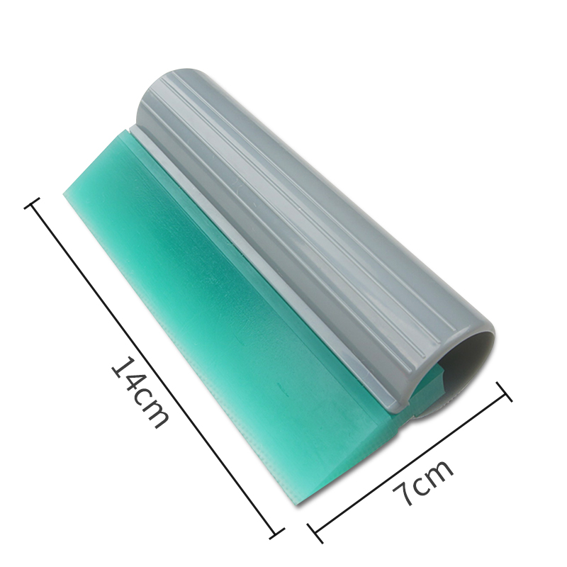 Carbins 7*14cm Soft Rubber Squeegee Scraper Turbo Window Tint Blade Vinyl Car Wrap Tools Water Wiper Car Cleaning Tools
