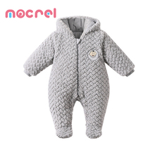 Children's Clothing Boys New Winter Baby Rompers Suit Baby Climb Clothes As Garment Long-Sleeved Thickening Crawlers For Kids