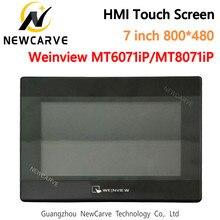 7 Polegada hmi tela de toque weinview/mt6071ip mt8071ip usb/ethernet relação máquina humana substituir mt6070ih5 mt6070ih newcarve