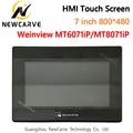 7 zoll HMI Touchscreen WEINVIEW/MT6071iP MT8071iP USB/Ethernet Human Machine Interface Ersetzen MT6070iH5 MT6070iH NEWCARVE