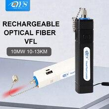 Fiber optik kablo test dedektörü görsel hata bulucu 10mW kırmızı ışık kalem FTTH kablosu VFL