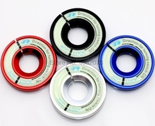 Door DHL of Fedex 100 stuks contactsleutel ring Schakelaar deksel stickers voor Volkswagen Lanya Polo Nieuwe Bora Golf 6CC tiguan Sagitar