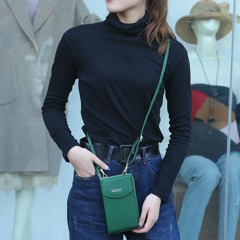 PU Luxury Handbags Women's Bags for Woman 2020 Ladies Hand Bags Women's Crossbody Bags Purse Clutch Phone Wallet Shoulder Bag 6