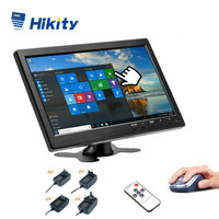 Hikity 10.1Car Monitor TFT LCD HD Monitor & PC Display Color Screen 2 Channel Video Input With BNC / AVI / VGA / HDMI Monitor