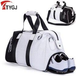 Marke Golf Kleidung Tasche Pu Ball Taschen Große Kapazität Kleidung Golf Schuhe Tasche Reisen Handtasche Rucksack Große Kapazität