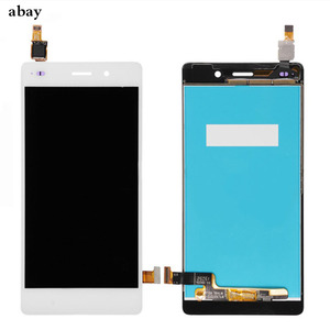 Image 3 - For Huawei Ascend P8 Lite ALE L04 L21 TL00 L23 CL00 L02 UL00 LCD Display Touch Screen Digitizer Assembly Replacement With Frame
