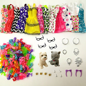 34 Item/Set Doll Accessories =