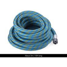 """Краски арт 3M/10ft Премиум USB кабель с нейлоновой оплеткой Аэрограф шланг с Стандартный 1/"""" Размеры фитинги на обоих концах товары для рукоделия"""