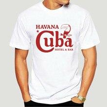 Cuba t camisa visita cuba che guevara t vintage retro cubana scarface wo Tees-4412D